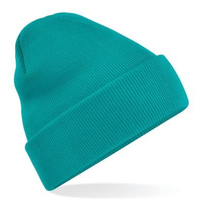 Cappelli Original Cuffed Beanie colore emerald taglia UNICA