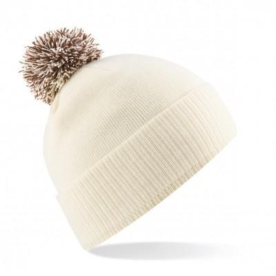 Cappelli Snowstar Beanie colore off white/mocha taglia UNICA