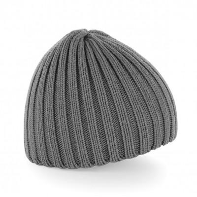 Cappelli Chunky Knit Beanie colore smoke grey taglia UNICA
