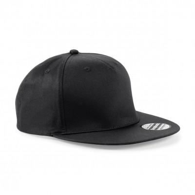 Cappelli 5 Panel Snapback Rapper Cap colore black taglia UNICA