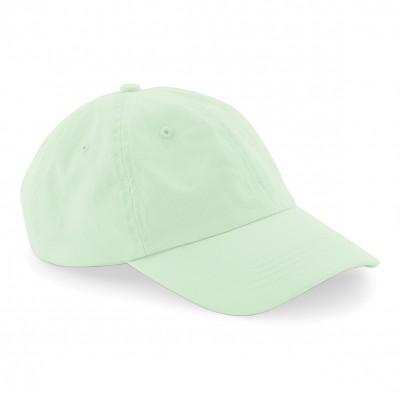 Cappelli Low Profile 6 Panel Dad Cap colore pastel mint taglia UNICA