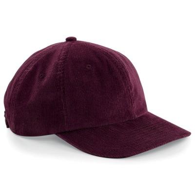 Cappelli Heritage Cord Cap colore burgundy taglia UNICA