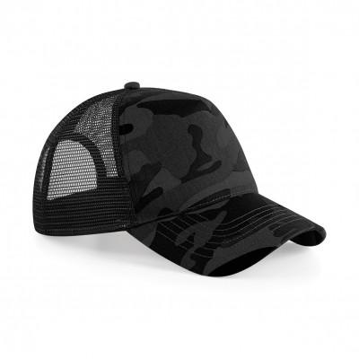 Cappelli Camo Snapback Trucker colore midnight camo taglia UNICA