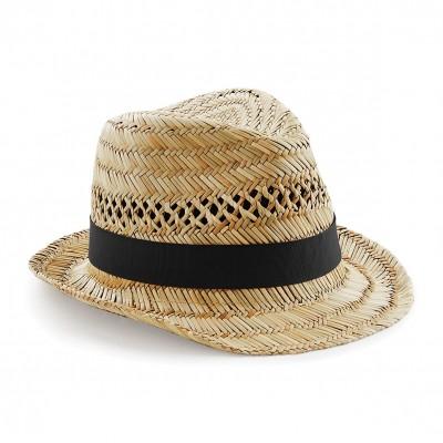 Cappelli Straw Summer Trilby colore natural taglia S/M