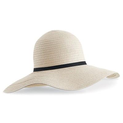 Cappelli Marbella Wide-Brimmed Sun Hat colore natural taglia UNICA