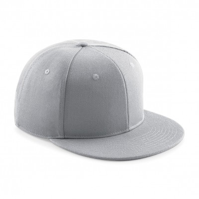 Cappelli Signature 6 Panel Snapback colore light grey taglia UNICA