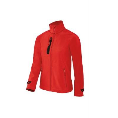 Soft shell X-Lite Softshell /Women colore deep red taglia XS